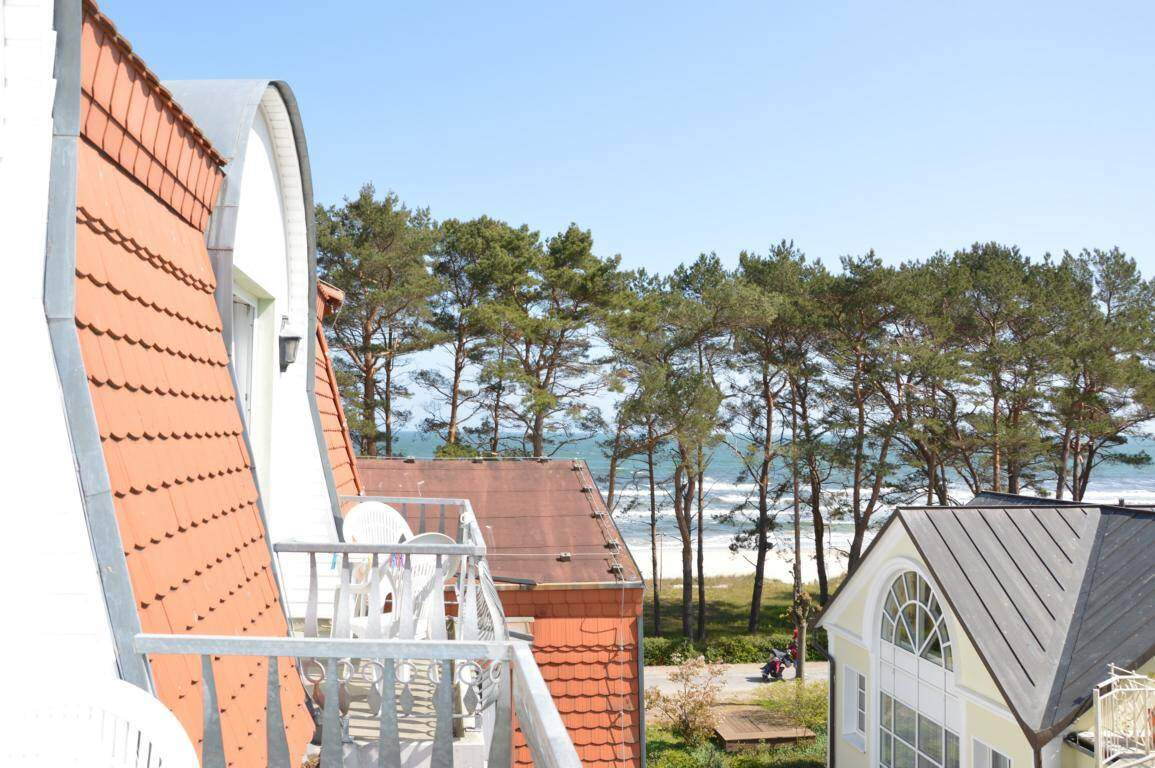 Apartment mit Meerblick in Binz
